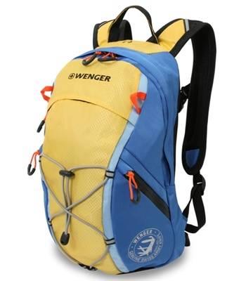 Рюкзак Wenger 3053347402  жёлтый/синий 39х24х15  (14л)