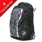 Рюкзак Wenger 3053204461 на колесах черный /серый  33х21х50см (36л)