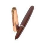 Перьевая ручка Parker 51 Vacumatic, 1948г., позолоч. колпачок, арт. 39