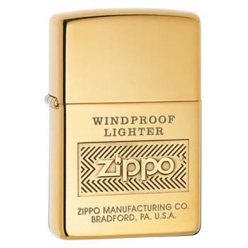 яЗажигалка Zippo 28145 High Polish Brass