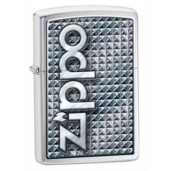 яЗажигалка Zippo 28280 Brushed Chrome
