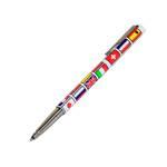 Шариковая ручка Parker Vector World Nations Flags, 2005г., новая, арт. 96