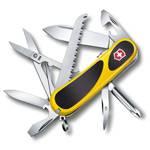 Нож Victorinox 2.4913.SC8 EvoGrip S18 (85мм 15 функций, жёлтый с чёрными вставками, spring lock)