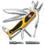 Нож Victorinox RangerGrip Boatsman (арт. 0.9798.MWC8, 130мм 21 функция жёлто-чёрный)