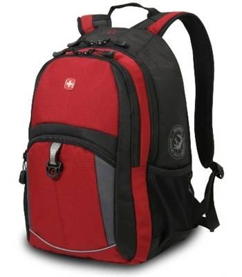 Рюкзак Wenger 3191201408 красный/черный, 33x15x45 см 22литра