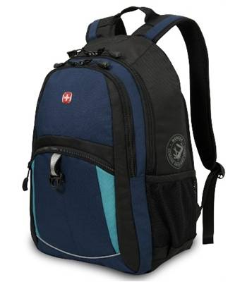 Рюкзак Wenger 3191203408 синий/черный, 33x15x45 см 22литра
