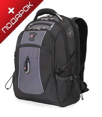 "Рюкзак Swissgear SA6677204410 черный/серый с отдел для ноутбука 15"" 35х23х48см 39л"