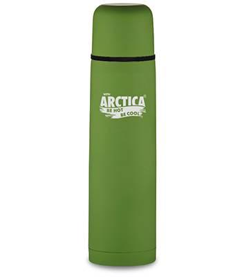 Термос Арктика с узким горлом 103-750 (с резиновым напылением зеленый, 750 мл)