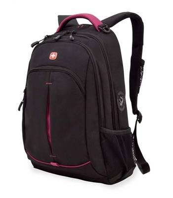Рюкзак Wenger 3165208408 черный/фукси 32x15x46 см, 22 л