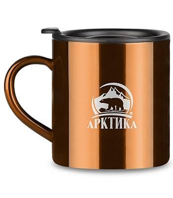 Термокружка Арктика 802-300 (300мл) кофейная
