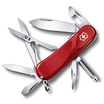Нож Victorinox 2.4903.SE Evolution S16 (85мм, 14 функций, с фиксатором , красный)