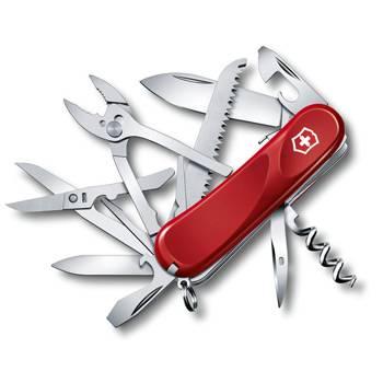Нож Victorinox 2.3953.SE Evolution S52 (85мм, 20 функций, с фиксатором, красный)