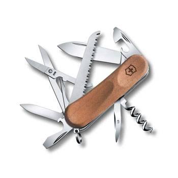 Нож Victorinox EvoWood 17 2.3911.63 (85мм 13 функций, рукоять ореховое дерево)