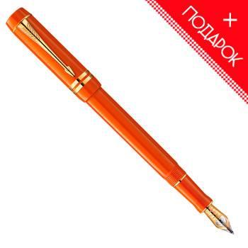 яПерьевая ручка F74 Parker Duofold Historical Colors Big Red GT International (1907190)