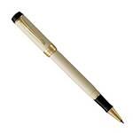Ручка-роллер Parker Duofold T74 White/Black GT (1931395)
