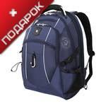 """Рюкзак Wenger 6677303408 синий с отделением для ноутбука 15"""" 34x23x48 см, 38 л"""