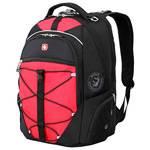 """Рюкзак Wenger 6772201408 черный/красный с отделением для ноутбука 15"""" 34x19x46 см, 30 л"""