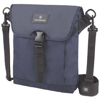 Сумка Victorinox 32389209 Altmont™ 3.0 Flapover Bag, синяя, нейлон Versatek™, 27x6x32 см, 5 л