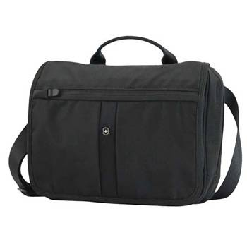 Сумка Victorinox 31173401 Advenuter Traveler чёрная, нейлон, 27x8x22 см, 4 л