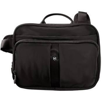 Сумка Victorinox 31173801 Travel Companion чёрная, нейлон, 27x8x21 см, 4 л