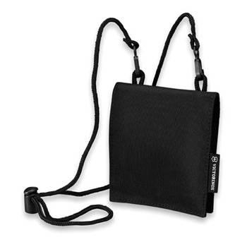 Кошелёк на шею VICTORINOX Travel Wallet  31172001 нейлон, черный 13x1x11 см
