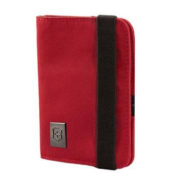 Обложка для паспорта VICTORINOX Travel Wallet 31172203 нейлон, красная 10x1x14 см