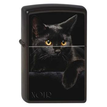 Зажигалка Zippo 218 Cat Black Matte