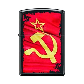 Зажигалка Zippo 218 Soviet Flag Sickle