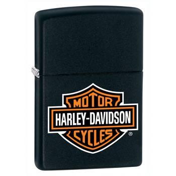 Зажигалка Zippo 218HD.H252 Harley-Davidson Black Matte