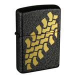 Зажигалка Zippo 236 Tire Tracks Black Crackle