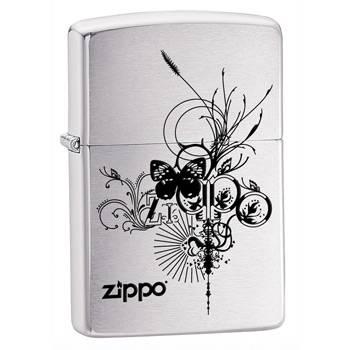 Зажигалка Zippo 24800 Brushed Chrome