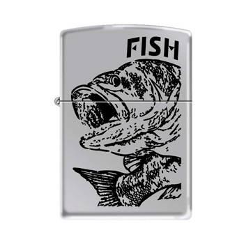 Зажигалка Zippo 250 Fish - Big Mouth