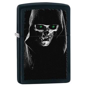 Зажигалка Zippo 28436 Skull Black Matte