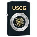 Зажигалка Zippo 28623 USCG Black Matte