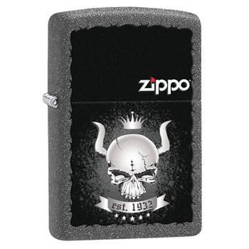 яЗажигалка Zippo 28660 Skull Crown Iron Stone