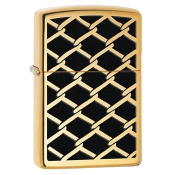 Зажигалка Zippo 28675 Gold Chain High Polish Brass