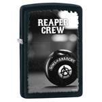 Зажигалка Zippo 28677 Sons of Anarchy Black Matte