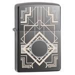 Зажигалка Zippo 28950 Art Deco Black Ice
