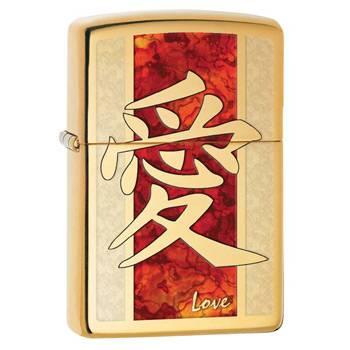 Зажигалка Zippo 28953 Hieroglyph Love Fusion