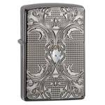 Зажигалка Zippo 28956 Crystal Lattice Black Ice