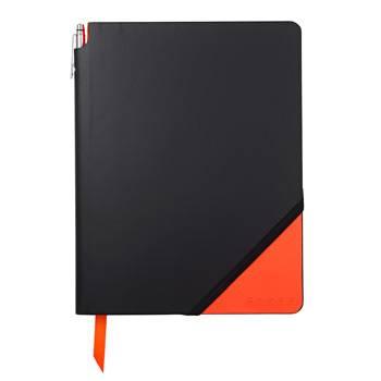 Записная книжка Cross AC273-1L Jot Zone оранжевый Large 160стр с ручкой