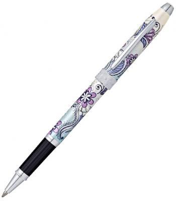 Ручка-роллер Selectip Cross Botanica AT0645-2 Сиреневая Орхидея