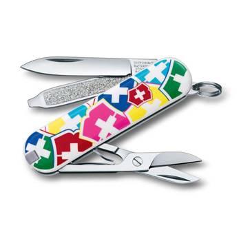 """Нож-брелок Victorinox 0.6223.841 Classic """"VX Colors"""" 58мм"""