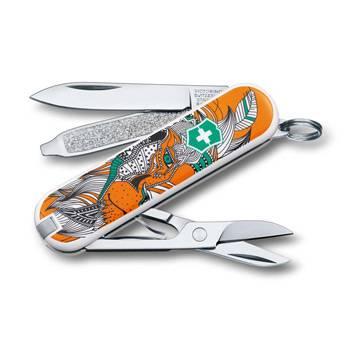 "Нож-брелок Victorinox 0.6223.L1501 Classiс ""Lion King"" 58мм"
