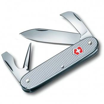 Нож Victorinox 0.8140.26 Pioneer Alox, 93 мм, серебристый