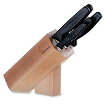 Набор ножей Victorinox 5.1183.51 (5 кухонных предметов в подставке из бука)