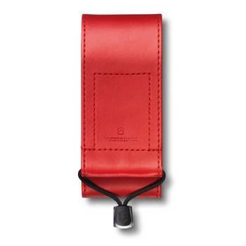 Чехол на ремень Victorinox (для ножа 111мм) 4.0482.1 (толщиной 3 уровня и SwissTool, кожзам красный)