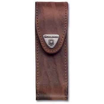 Чехол на ремень Victorinox (для ножа 111мм) 4.0548 (толщиной 4-6 уровней, кожаный, коричневый)