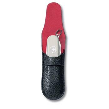 Чехол Victorinox (для ножа 58мм) 4.0662 (толщиной 2-3 уровня, кожаный, чёрный)