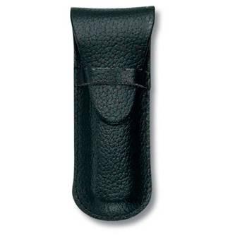 Чехол Victorinox (для ножа 84мм) 4.0666 (толщиной до 2 уровней, кожаный, чёрный)
